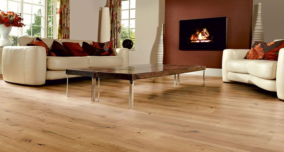 stunning natural wood floorin in lounge