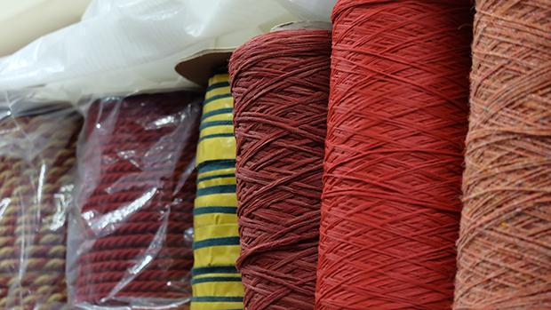 carpet binding material