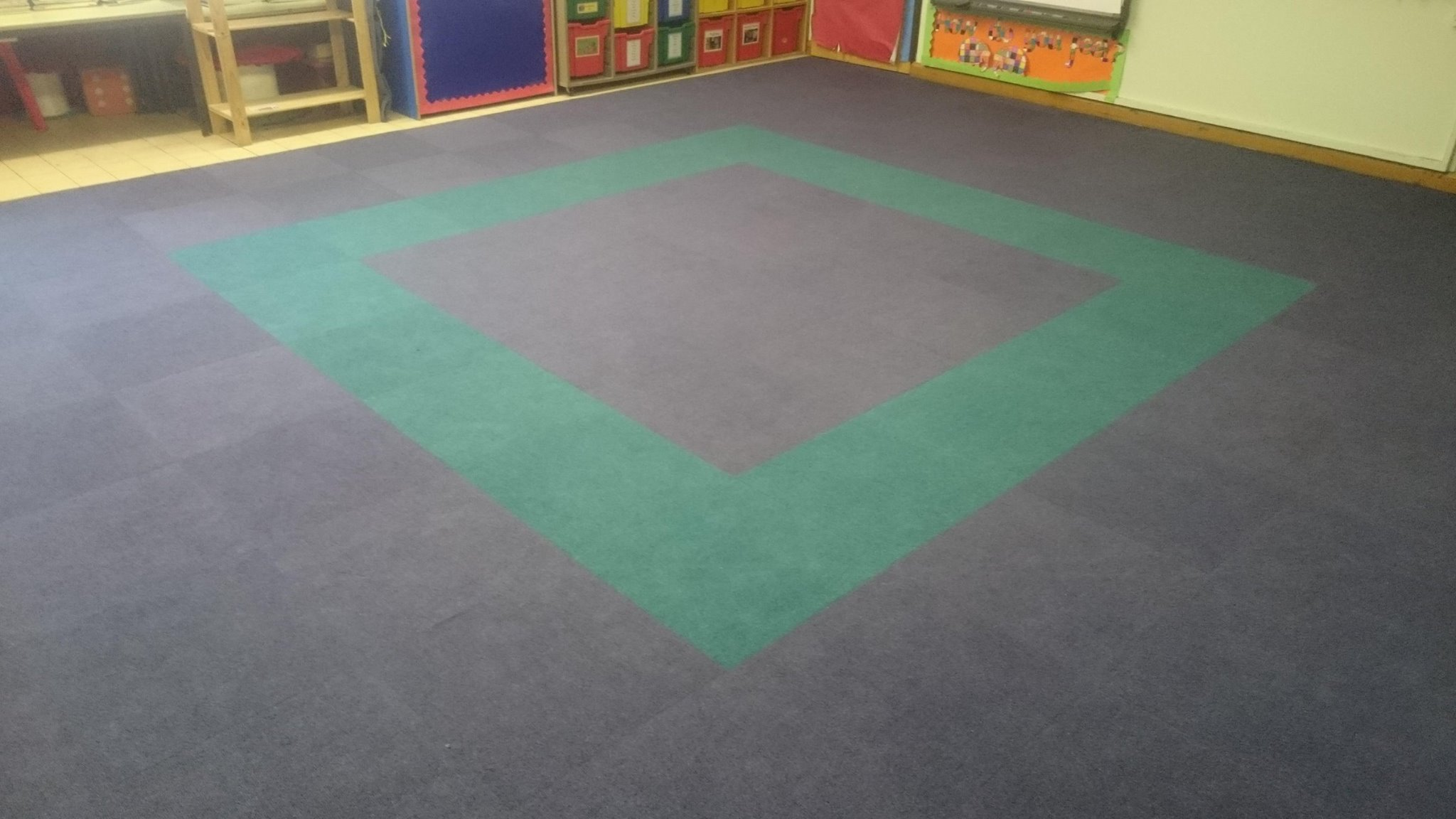 school supacord tiles carpet