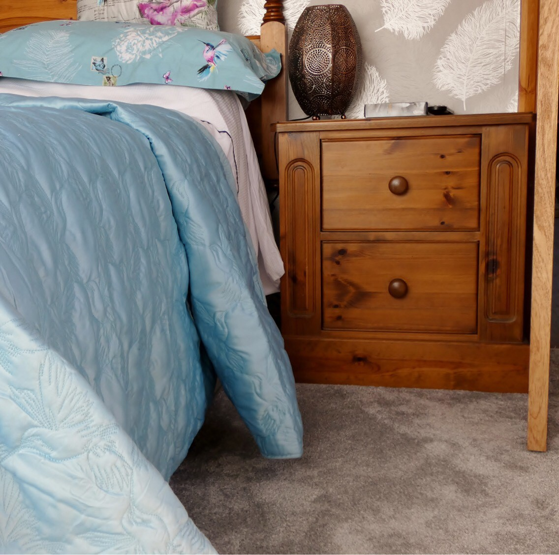 luxury soft touch bedroom flooring