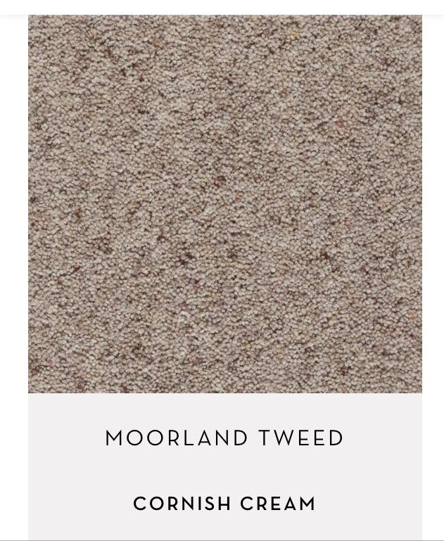 Moorland Tweed Cornish Cream carpet by Axminster Carpets